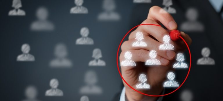 target audience or segment or CRM