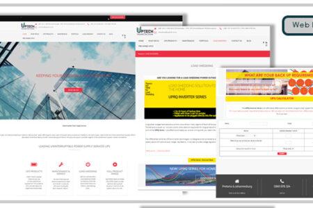 Uptech Webste